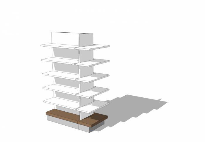 mobilier tete de gondole