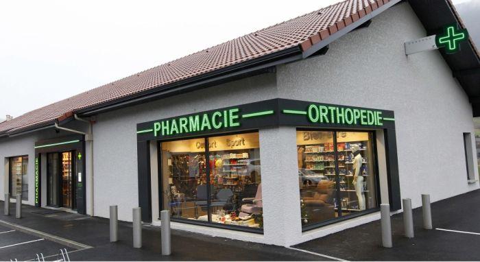 façade pharmacie MARET