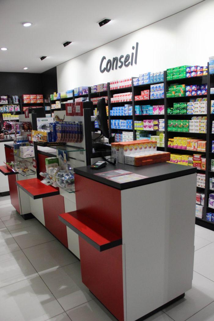 comptoirs de vente