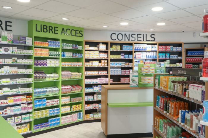 amenagement interieur pharmacie