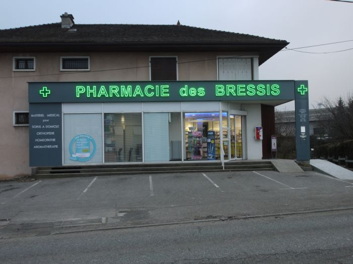 facade pharmacie des Bressis