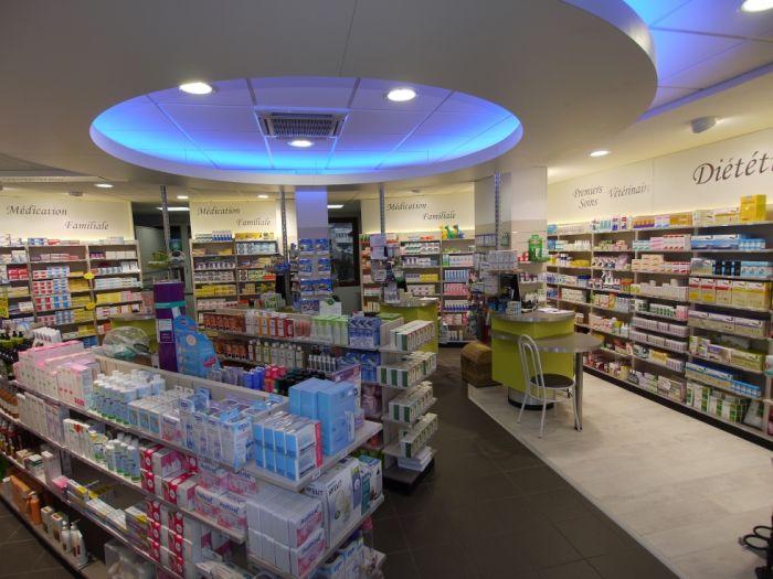 intérieur Pharmacie